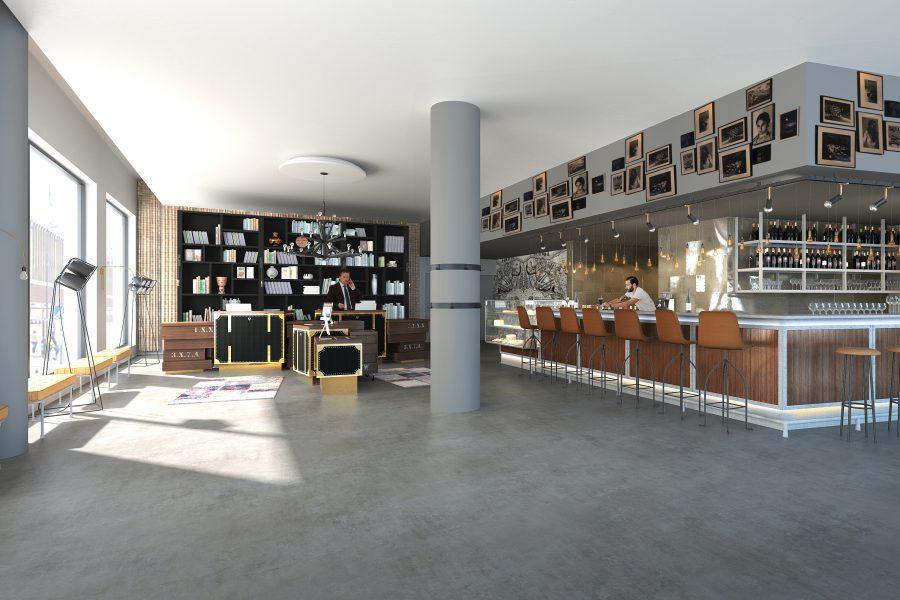 New Radisson Blu Metropol Hotel.